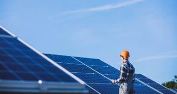 Montaż paneli słonecznych dla firmy Ola-Tech